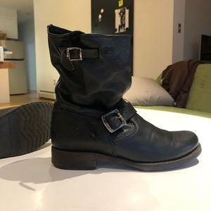Frye Moto boots Veronica Shortie